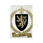 FRIOLET Family Crest Rectangle Magnet