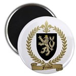 FRIOLET Family Crest 2.25&quot; Magnet (10 pack)