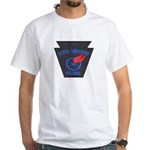 Pennsylvania Highway Patrol White T-Shirt
