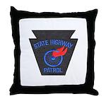 Pennsylvania Highway Patrol Throw Pillow