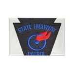 Pennsylvania Highway Patrol Rectangle Magnet (100