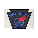 Pennsylvania Highway Patrol Rectangle Magnet (100