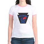Pennsylvania Highway Patrol Jr. Ringer T-Shirt