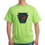 Pennsylvania Highway Patrol Green T-Shirt