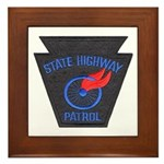 Pennsylvania Highway Patrol Framed Tile