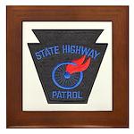 Pennsylvania Highway Patrol Framed Tile