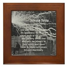 Alternating Current: Tesla Framed Tile