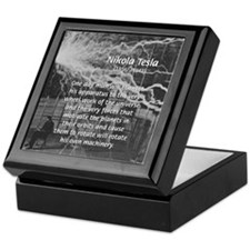 Alternating Current: Tesla Keepsake Box