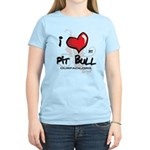 I Luv My Pit Bull Women's Light T-Shirt
