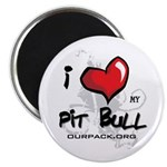 I Luv My Pit Bull Magnet