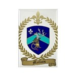 MALLAIS Family Crest Rectangle Magnet