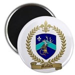 "MALLAIS Family Crest 2.25"" Magnet (100 pack)"