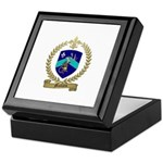 MALLAIS Family Crest Keepsake Box