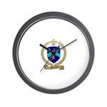 MALLAIS Family Crest Wall Clock