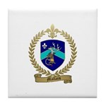 MALLAIS Family Crest Tile Coaster