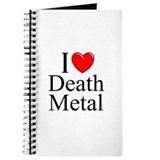 """I Love (Heart) Death Metal"" Journal"