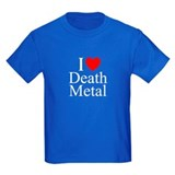"""I Love (Heart) Death Metal"" T"