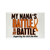 My Battle Too (Nana) Rectangle Magnet