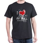 I Luv My Pit Bull Dark T-Shirt