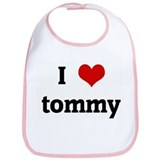 I Love tommy Bib