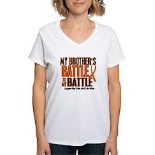 My Battle Too (Brother) Orange Shirt