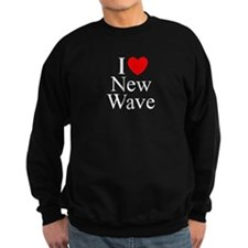 """I Love (Heart) New Wave"" Sweatshirt"