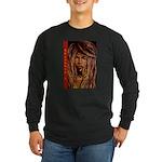 Selassie I Long Sleeve Dark T-Shirt