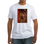 Selassie I Fitted T-Shirt