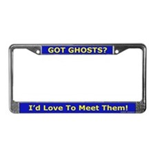 Love To Meet Them License Plate Frame