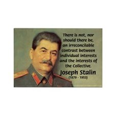 Joseph Stalin Rectangle Magnet