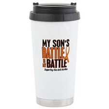 My Battle Too (Son) Orange Ceramic Travel Mug