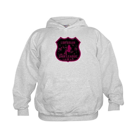 Librarian Diva League Kids Hoodie