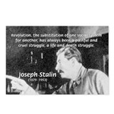 Joseph Stalin Revolution Postcards (Package of 8)