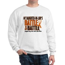 My Battle Too (Daughter-In-Law) Orange Sweatshirt