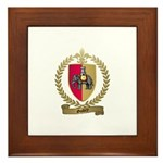 GUIDRY Family Crest Framed Tile