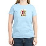 GUIDRY Family Crest Women's Pink T-Shirt