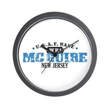 McGuire Air Force Base Wall Clock