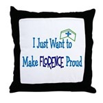 More Nursing Student Throw Pillow