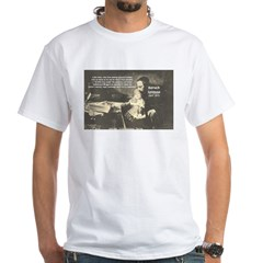 Rationalist Baruch Spinoza White T-Shirt