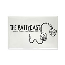 PattyCast Portable Fandom Rectangle Magnet