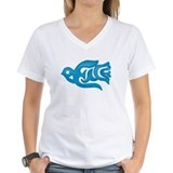 Blue Peace Dove Shirt
