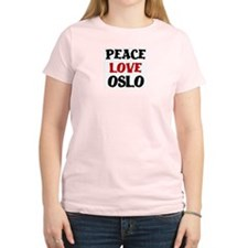 Peace Love Oslo T-Shirt