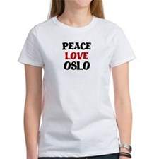 Peace Love Oslo Tee