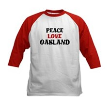 Peace Love Oakland Tee