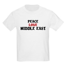 Peace Love Middle East T-Shirt
