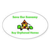 Save Our Economy Oval Sticker (50 pk)