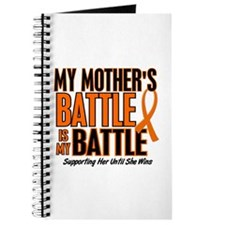 My Battle Too (Mother) Orange Journal