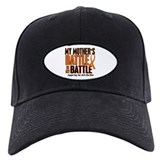 My Battle Too (Mother) Orange Baseball Hat