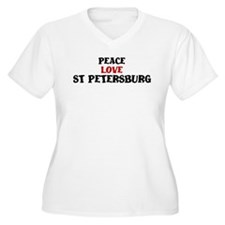 Peace Love St Petersburg T-Shirt