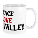 Peace Love Simi Valley Mug
